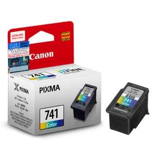 包郵 原裝行貨 Canon CL-741XL 彩色墨盒連噴墨頭 (高用量) Canon CL-741XL Color