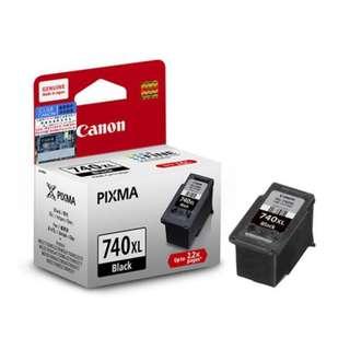 包郵 原裝行貨 Canon CL-740XL 黑色墨盒連噴墨頭 (高用量) Canon CL-740XL Black