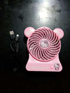 HK mini pink fan