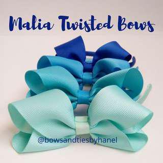 Malia Twisted Bows