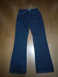 🚚 【香港製】ESPRIT 深藍色牛仔褲(36)