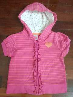 Carter's pink jacket