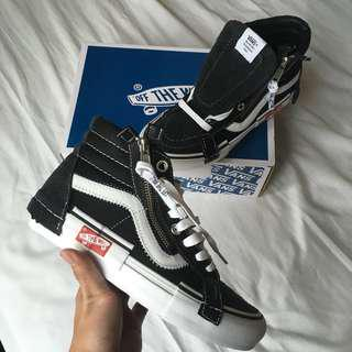 "Vans Vault Sk8-Hi Cap LX Deconstructed Black ""Inside Out"" (US6)"