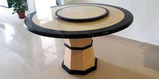 Authentic Round Marble Dining Table