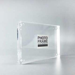 人造水晶磁石開口相框 3R - 5*3.5吋 HKD $70@起, 量大價格更優惠 中