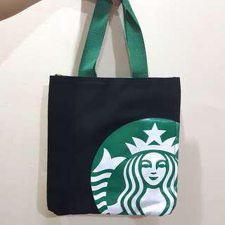 Starbucks Logo Canvas Hand Carry Bag