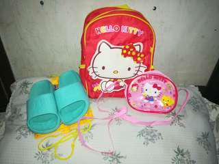 Bags & Slippers for Girls Bundle