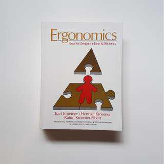 ERGONOMICS:  HOW TO DESIGN FOR EASE & EFFICIENCY