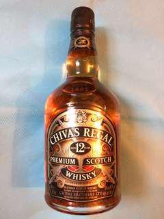 全新,無盒!Chivas Regal 12 Premium Scotch Whisky 芝華士12年 - 實物圖