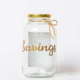 52 Weeks Saving Challenge Jar