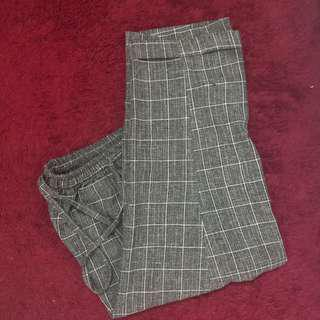 Plaid Grey Trousers