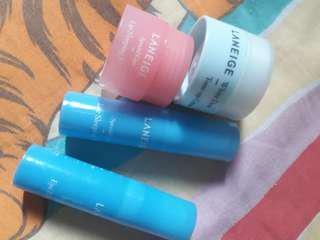 Laneige eye lip and face
