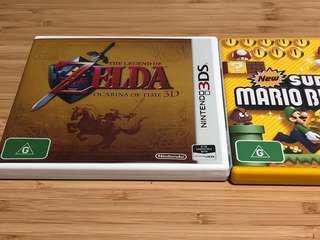 Zelda and Super Mario Bros 2 for Nintendo 3DS