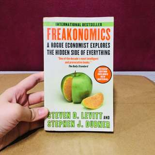 Freakonomics Steven Levitt Stephen Dubner