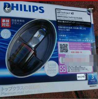 🚚 H11 LED 6000K  飛利浦