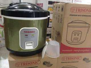 RICE COOKER TRISONIC 3 IN 1 1,2 L
