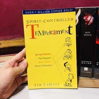 Spirit Controlled Temperament Tim Lahaye
