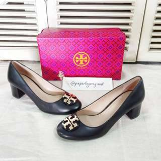 Tory Burch Women Pump shoes woman original Authentic sepatu wanita black