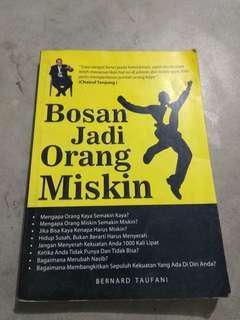 Buku bosan jadi orang miskin