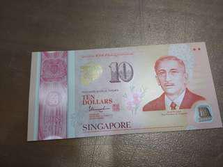 SG50 $10 dollar note