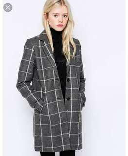 Vero Moda grey check jacket