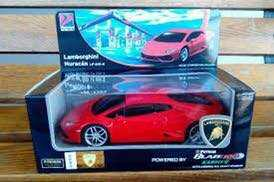 Petron Car Lamborghini Huracan Red