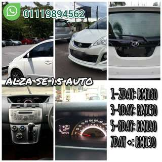 Car for rent Alza 1.5 SE AUTO