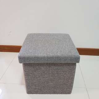 Storage box and stool