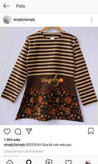 Stippy Batik Top