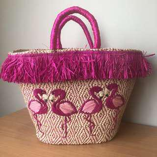 Native Flamingo Bag
