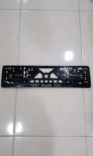 Audi Car Number Plate Holder