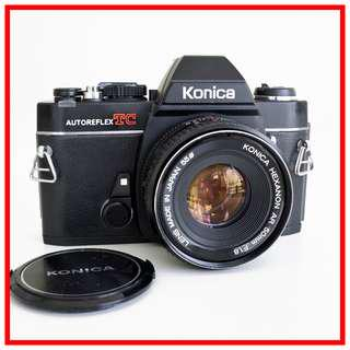 [EXC+] Konica TC 35mm Vintage Film Camera + Konica 50mm F1.8