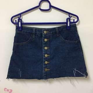 🚚 排扣褲裙(M)