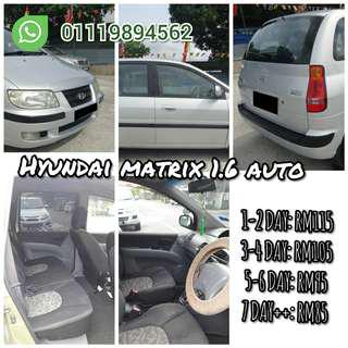 Car for rent HYUNDAI MATRIX AUTO