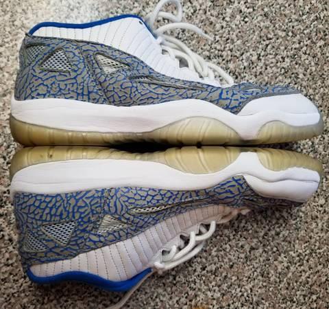 06912790e8f3dd 2007 Air Michael Jordan 11 XI Retro Low Sneakers Shoes Size 12 ...