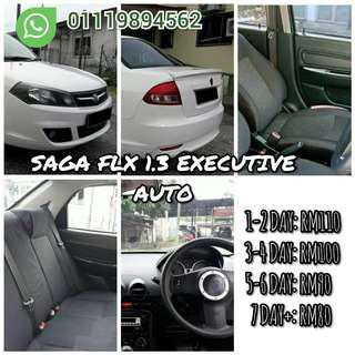 Car for rent SAGA FLX EXECUTIVE AUTO