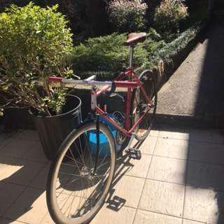 Retro custom race bike