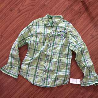 Guess Plaid Polo