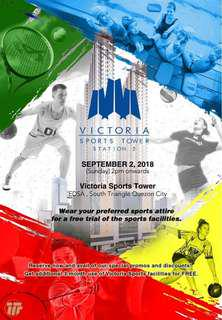 Grand openhouse of Victoria Sports Tower