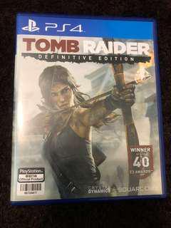 PS4 Tomb Raider 中英