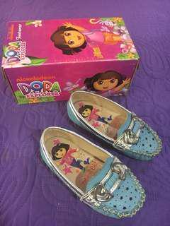 Dora Kids Light Blue Shoes