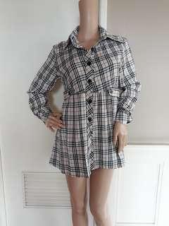 Burberry ins dress
