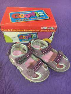PitterPat Kids Violet Shoes