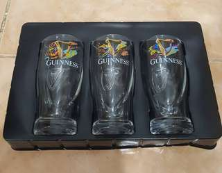 Guinness collectible shot glass cup