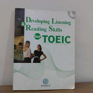 🚚 Developing listening reading skills for TOEIC(多益用書)