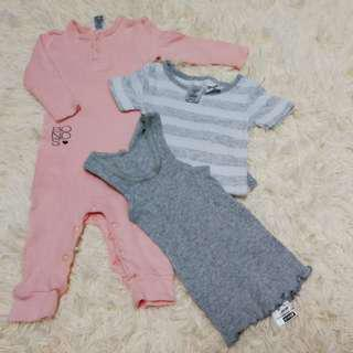 Baby girl set (0-3months)