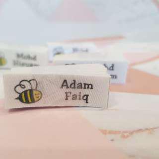 🚚 Custom Order Name tag uniform Iron On custom clothing name labels♥♥♥