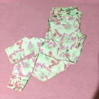 RRJ Floral Pants