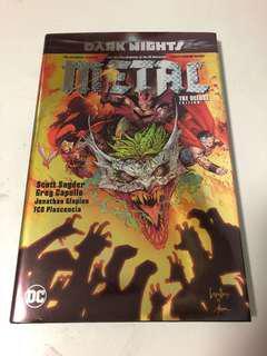 Dc comics Metal main series Superman Batman Justice league