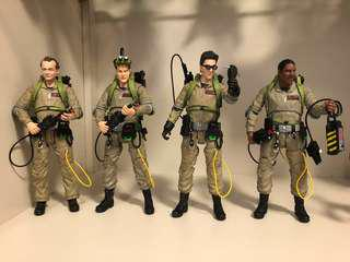 Ghostbusters Diamond Select Set Venkman Winston Egon Ray